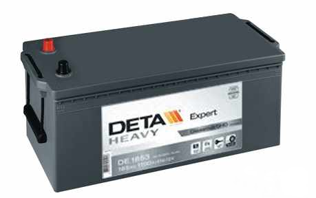 Akumulators Deta Heavy Expert 185ah 1100A