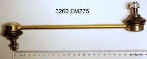 Stabilizatora stienis atsaite zaldatins prieksejais 3260 EM375