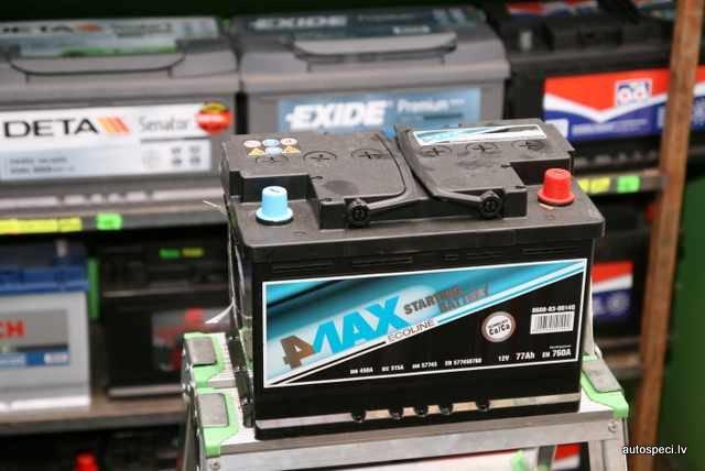 Akumulators 4Max Ecoline 77Ah 760A
