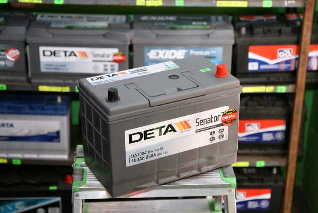 Akumulators Deta 100Ah 850A jap
