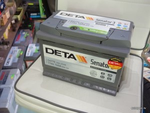 Akumulators Deta 77Ah 760A