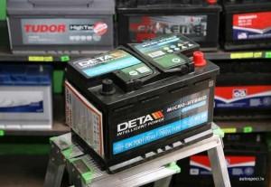 Akumulators Deta AGM 70Ah 760A