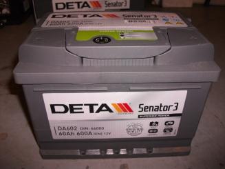 Akumulators Deta Senator3 60AH 600A