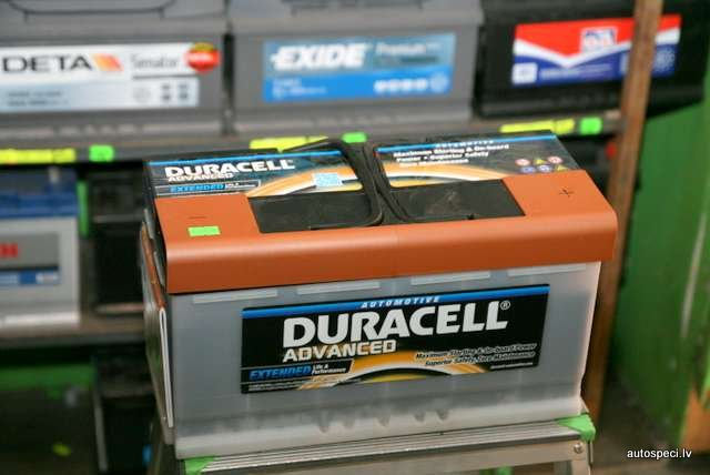 Akumulators Duracell Advanced 100Ah 800A