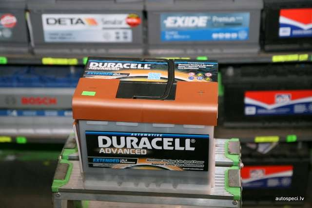 Akumulators Duracell Advanced 63Ah 600A