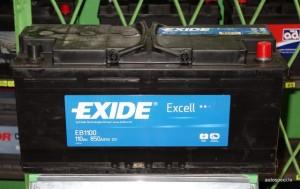 Akumulators Exide Excell 110Ah 850A