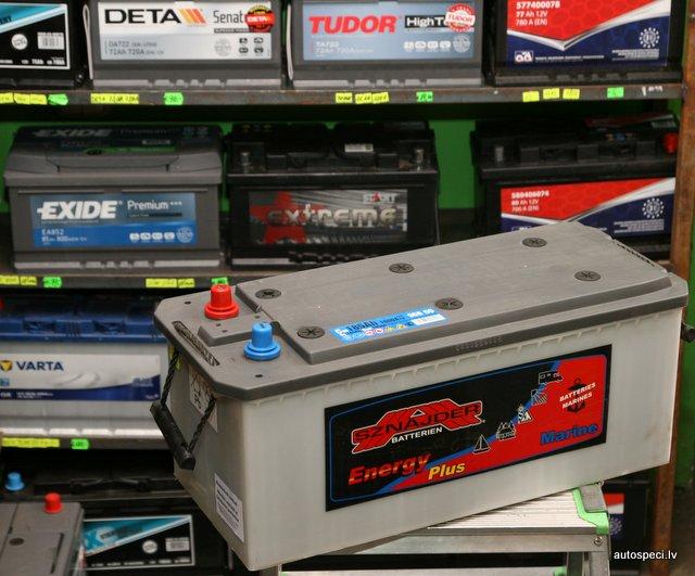 Akumulators Sznajder Energy Plus Marine 185Ah 1000A dzilas izlades