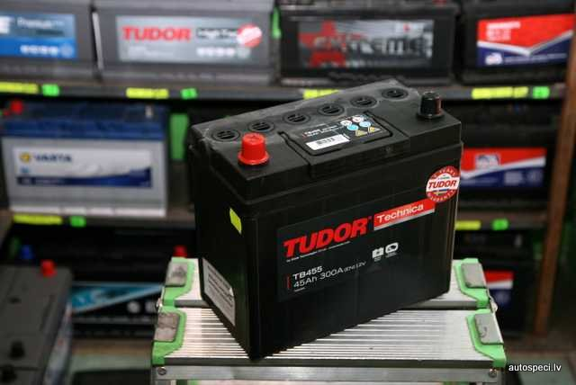 Akumulators Tudor 45Ah 300A