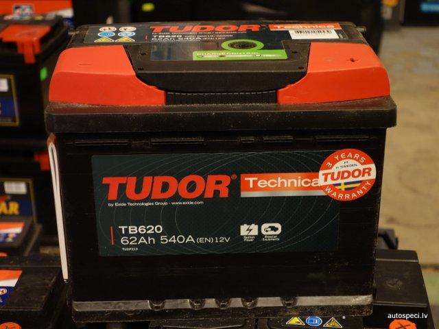 Akumulators Tudor Technica 62Ah 540A