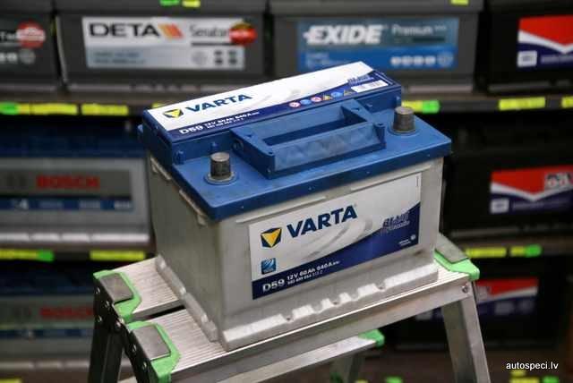 Akumulators Varta Blue 60Ah 540A