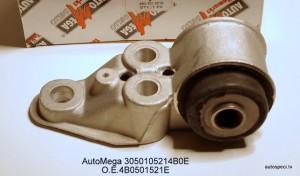 Sailentbloks aizmugureja tilta ar aluminija kronsteinu labais AutoMega 3050105214B0E 4B0501521E