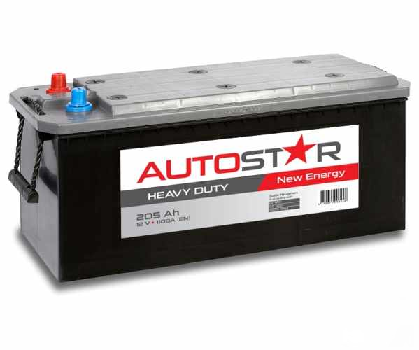 Akumulators Autostar 205Ah 1100A