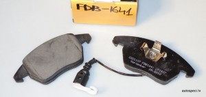Bremzu kluci BRP FDB1641