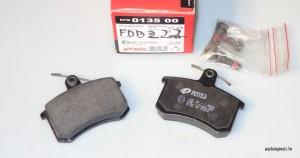 Bremzu kluci aizmugurejie REMSA 013500 FDB222