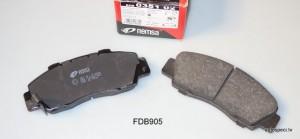Bremzu kluci priekšējie REMSA 035102 FDB905