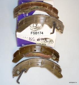 Bremzu loki BRP BS679 FSB174