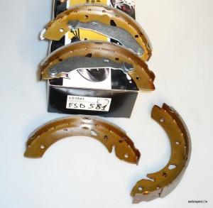 Bremzu loki BRP LS1843 FSB581
