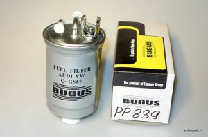 Degvielas filtrs BUGUS PP839