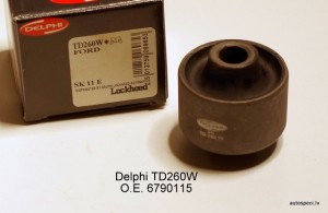 Sviras bukse priekseja apakseja Delphi TD260W 6790115