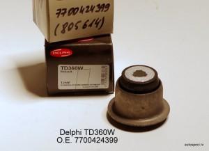 Sailentbloks bukse Delphi TD360W 7700424399 805614