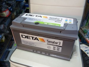 Akumulators Deta 100Ah 900A