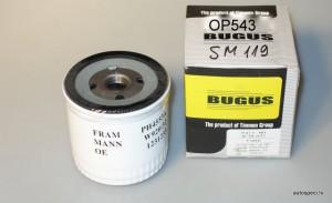Ellas filtrs BUGUS SM119 OP543