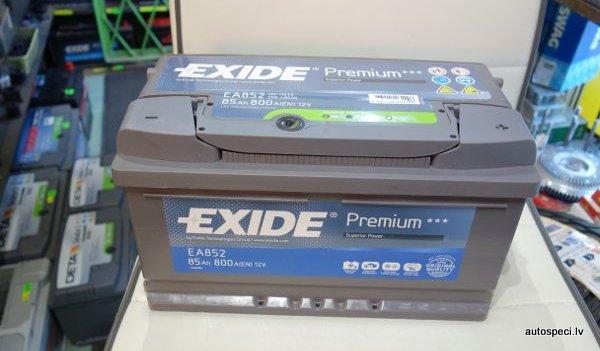 Akumulators Exide 85Ah 800A