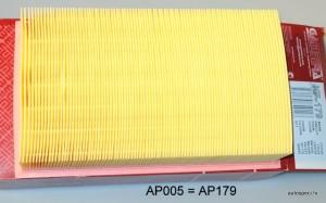 Gaisa filtrs Gambera KF-179 AP005 AP179