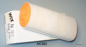 Gaisa filtrs Wix AK362