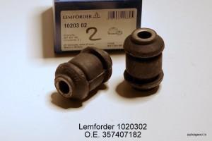 Sviras bukse sailentbloks prieksejais Lemforder 1020302 357407182
