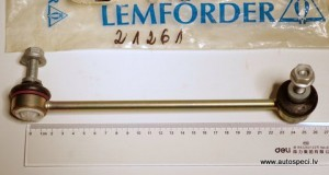 Stabilizatora atsaite stienis zaldatins Lemforder 21261