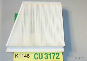 Salona filtrs Mann CU3172 K1146