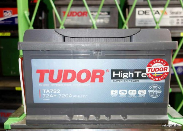 Tudor HiTech 72ah 720a