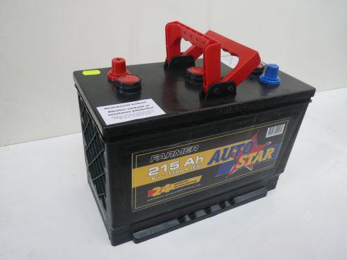 Akumulators Autostar 215ah 1150A 6v traktoriem