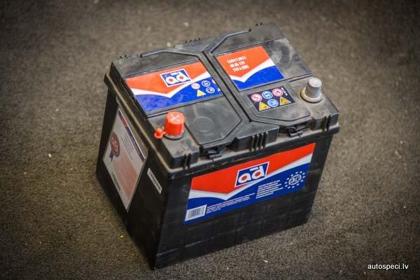 Akumulators AD 60Ah 510A Rev