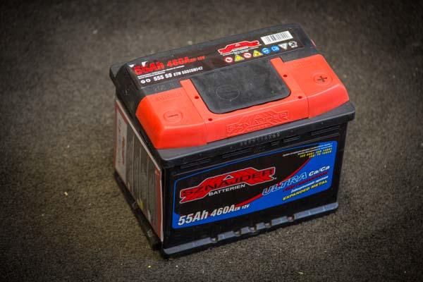 akumulators Sznajder 55Ah 460A