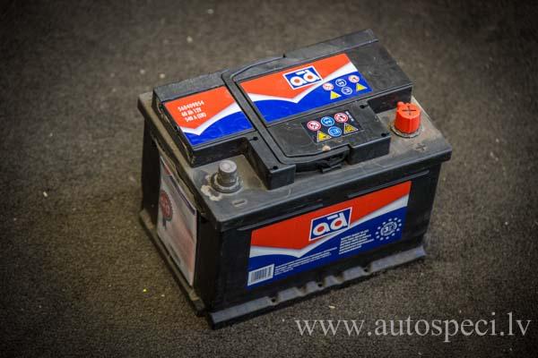 Akumulators AD 60Ah 540A zemais