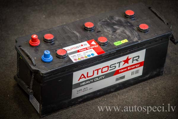 Akumulators Autostar 145Ah 800A