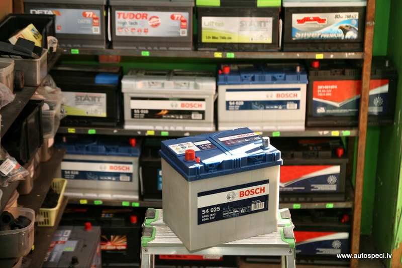 Akumulators Bosch Silver 60AH 540A japanu rev