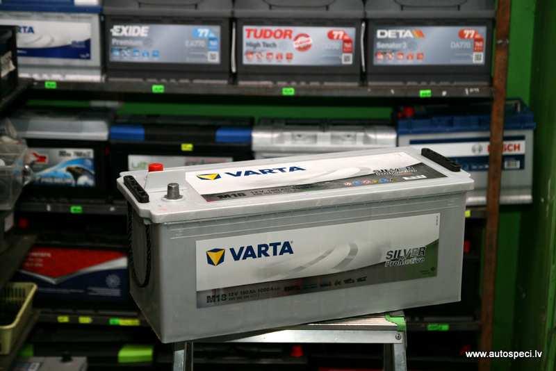 Akumulators Varta Silver ProMotive 180Ah 1000A